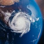 宇宙からみた台風