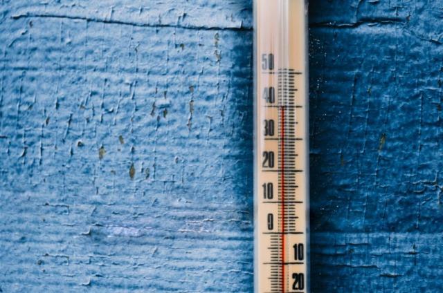 高温の温度計